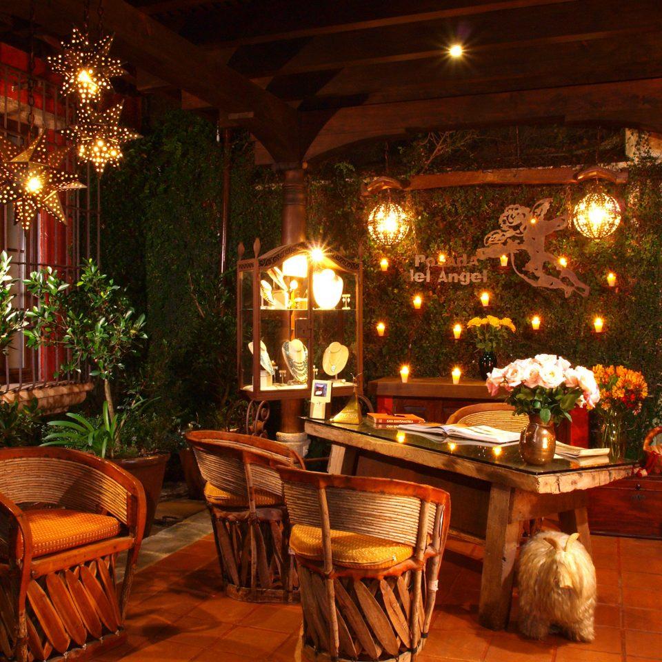Shop restaurant night lighting Lobby Bar