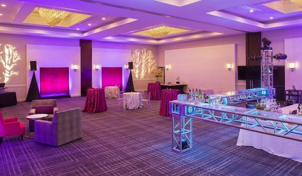 function hall Lobby restaurant purple convention center ballroom Bar Suite