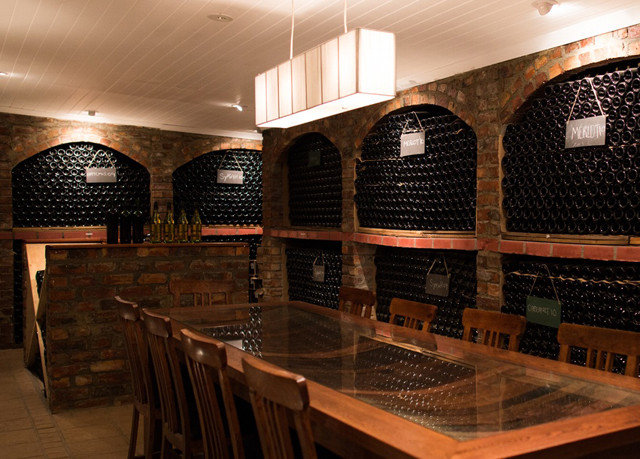 Winery wine cellar oven Lobby Bar basement
