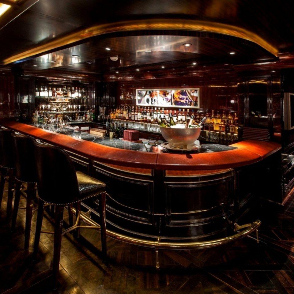 Bar nightclub restaurant steel night