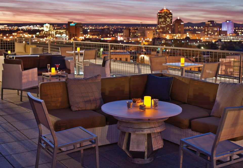 Bar restaurant overlooking