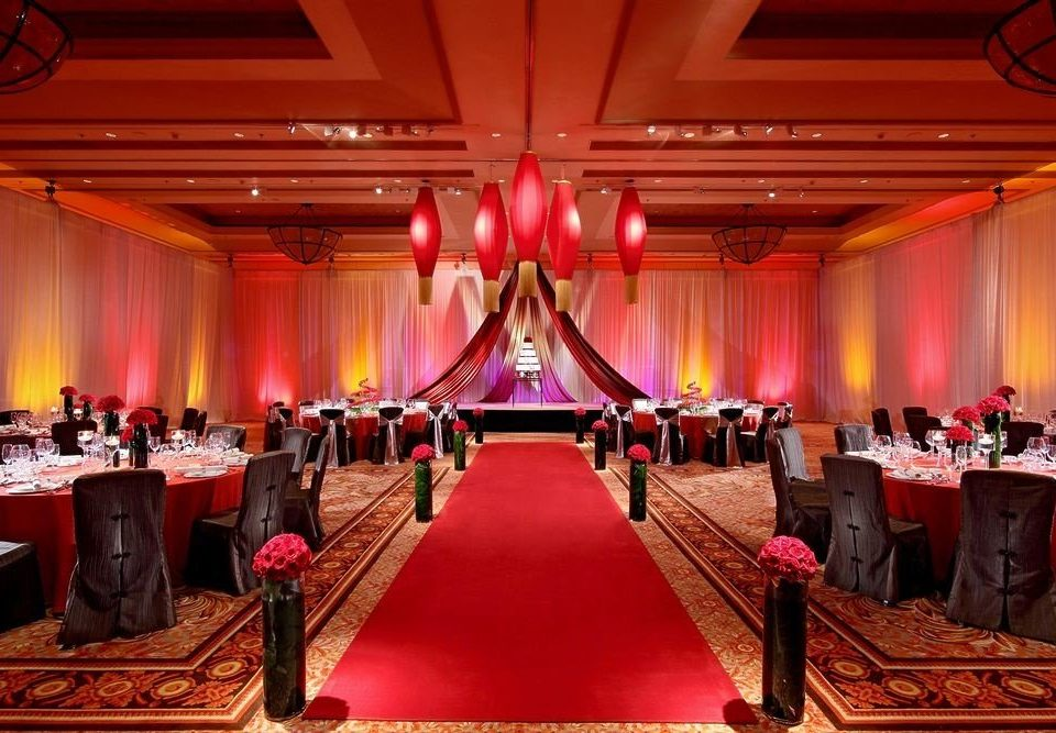 function hall banquet auditorium stage ballroom ceremony quinceañera Party wedding reception conference hall convention center long Bar