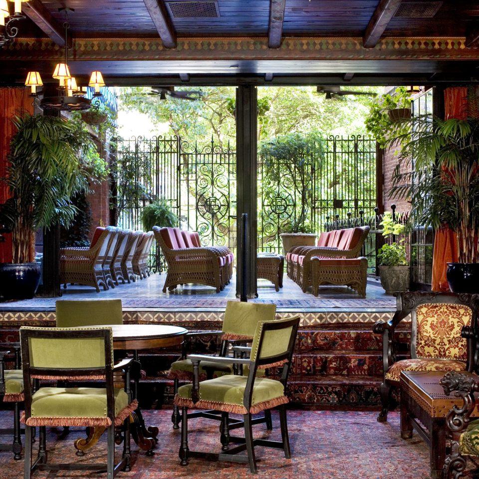 chair building restaurant tavern Bar Resort arranged