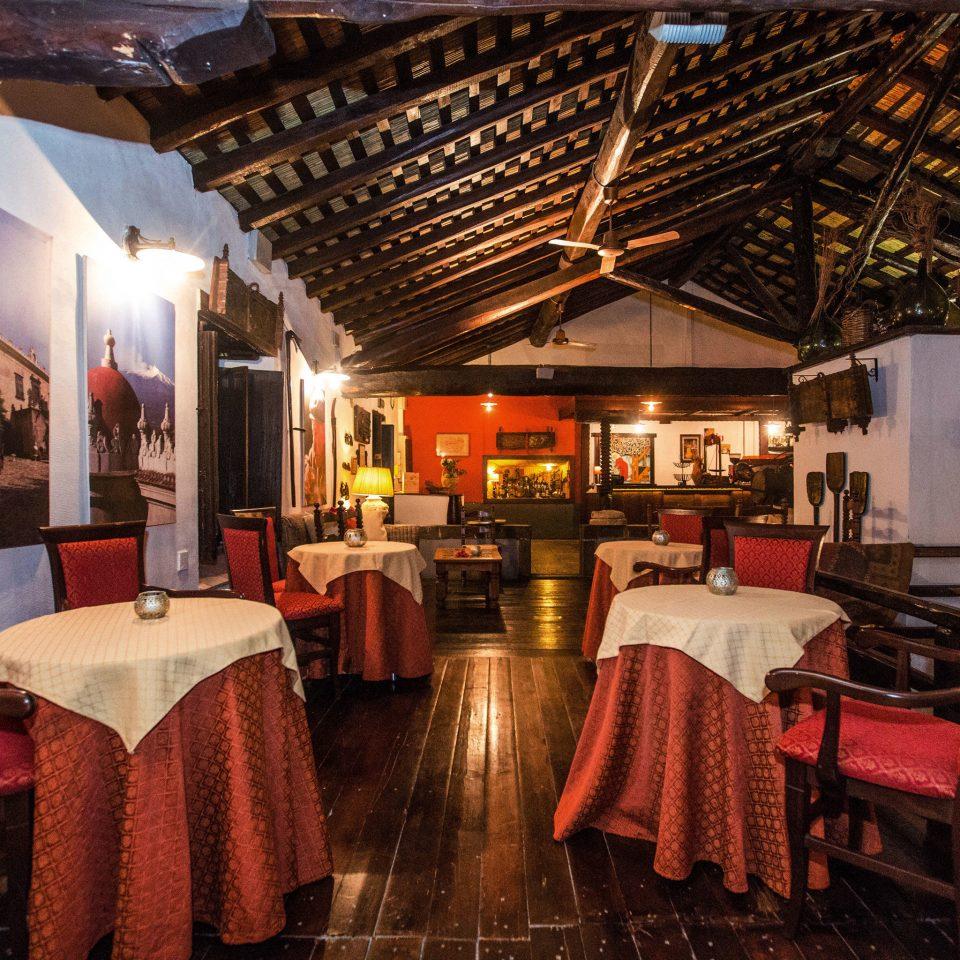 chair restaurant red tavern Resort Bar