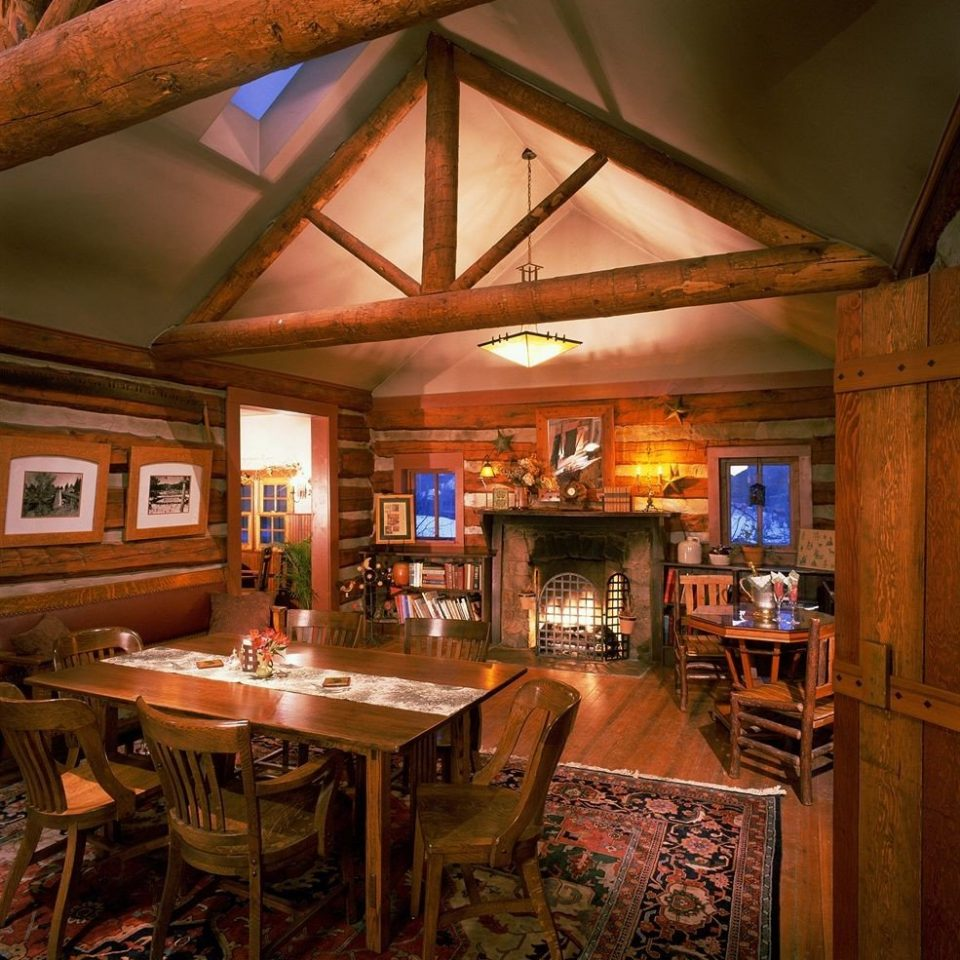 recreation room restaurant home Bar log cabin tavern cottage Resort
