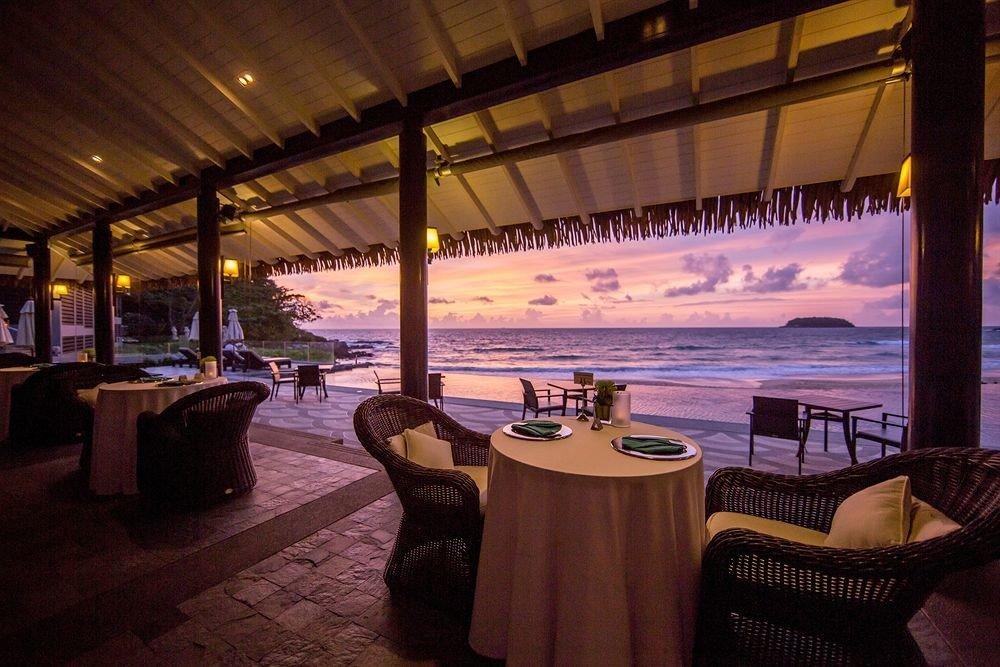 restaurant Resort evening swimming pool Bar