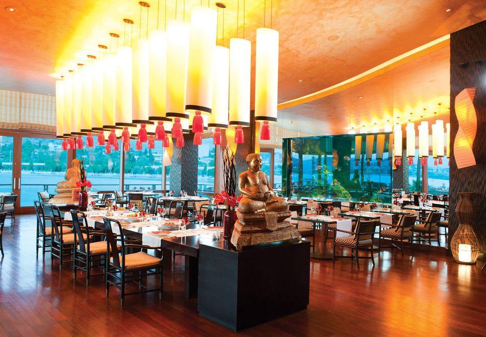 restaurant scene Bar function hall Resort