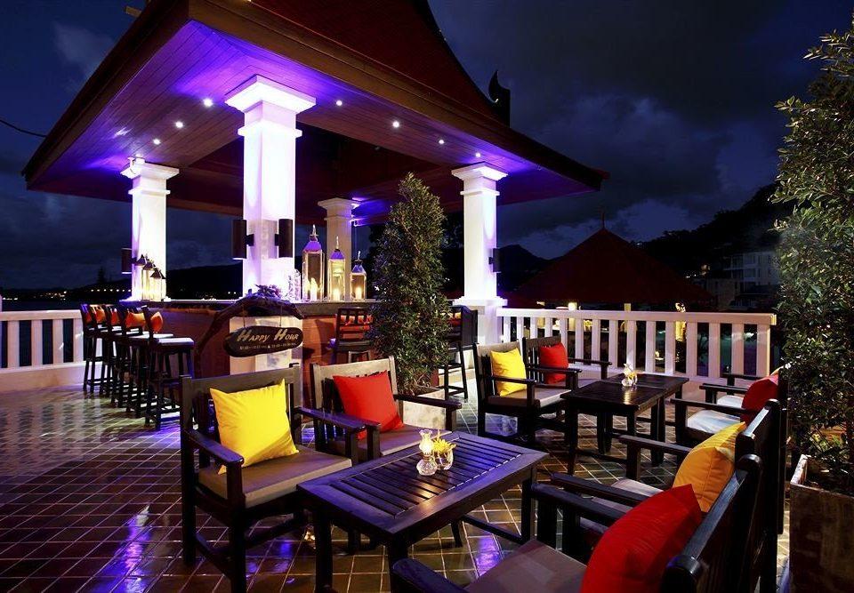 Resort restaurant Bar purple nightclub