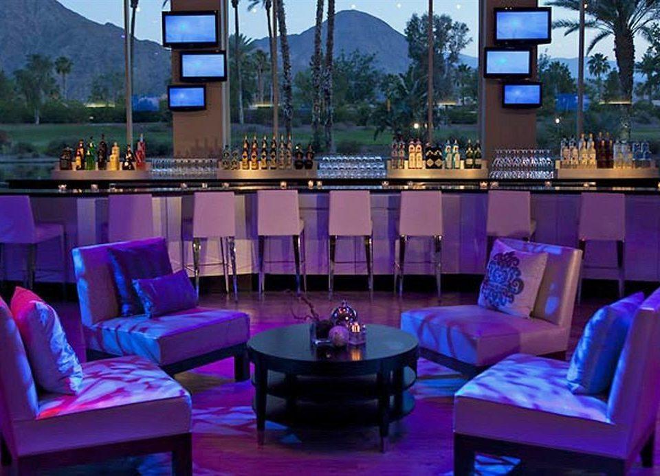 Resort restaurant Bar purple