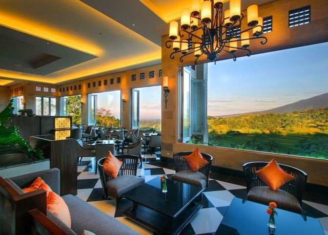 property leisure Resort restaurant orange yellow condominium Villa Bar