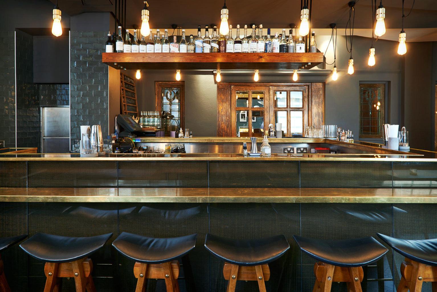 Bar Rustic chair restaurant