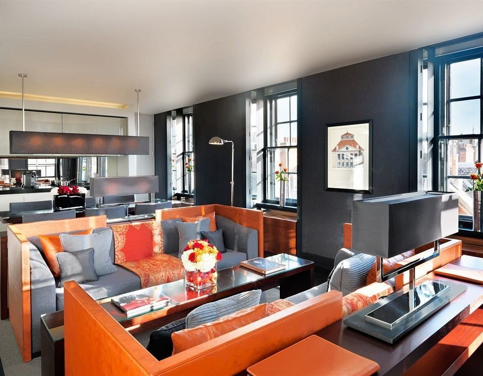 orange property living room condominium home Suite loft working Bar