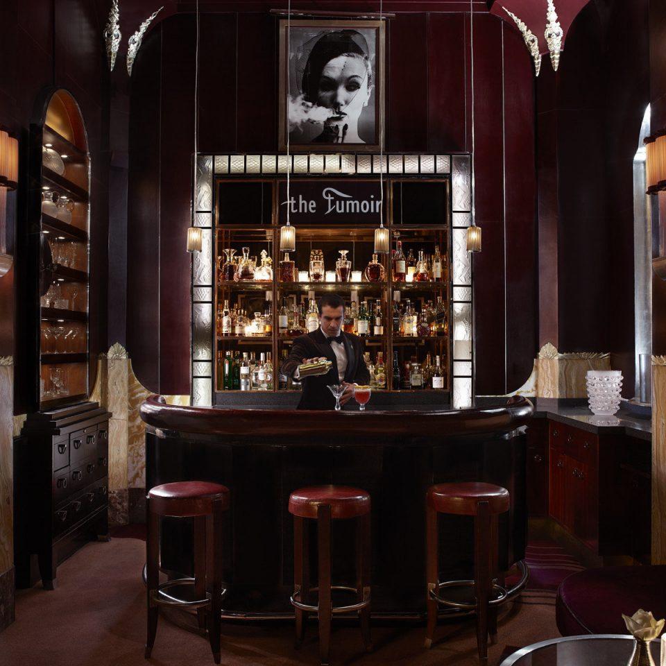 dark Bar restaurant lighting Winery