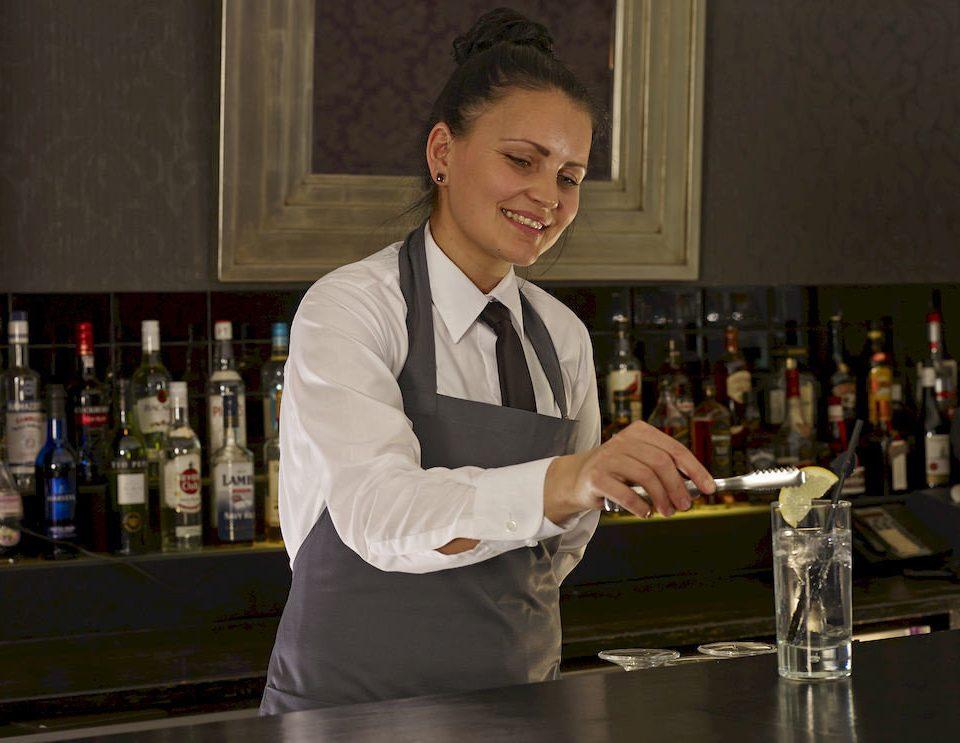 professional bartender profession sense preparing