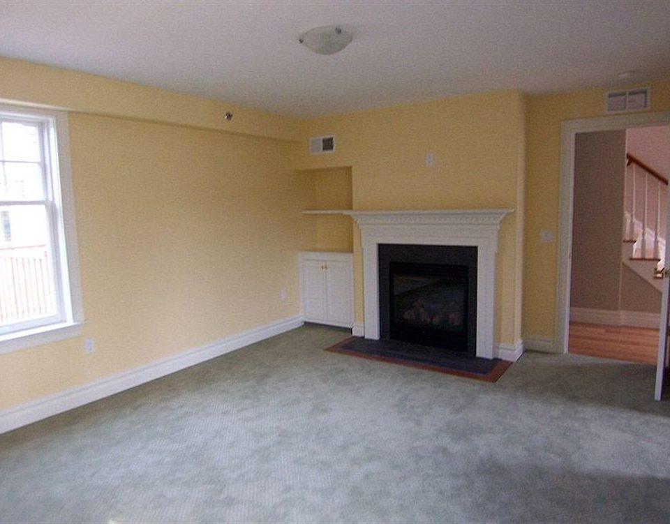 building property home hardwood cottage living room basement empty hard