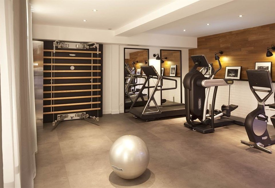 structure property sport venue gym home condominium basement