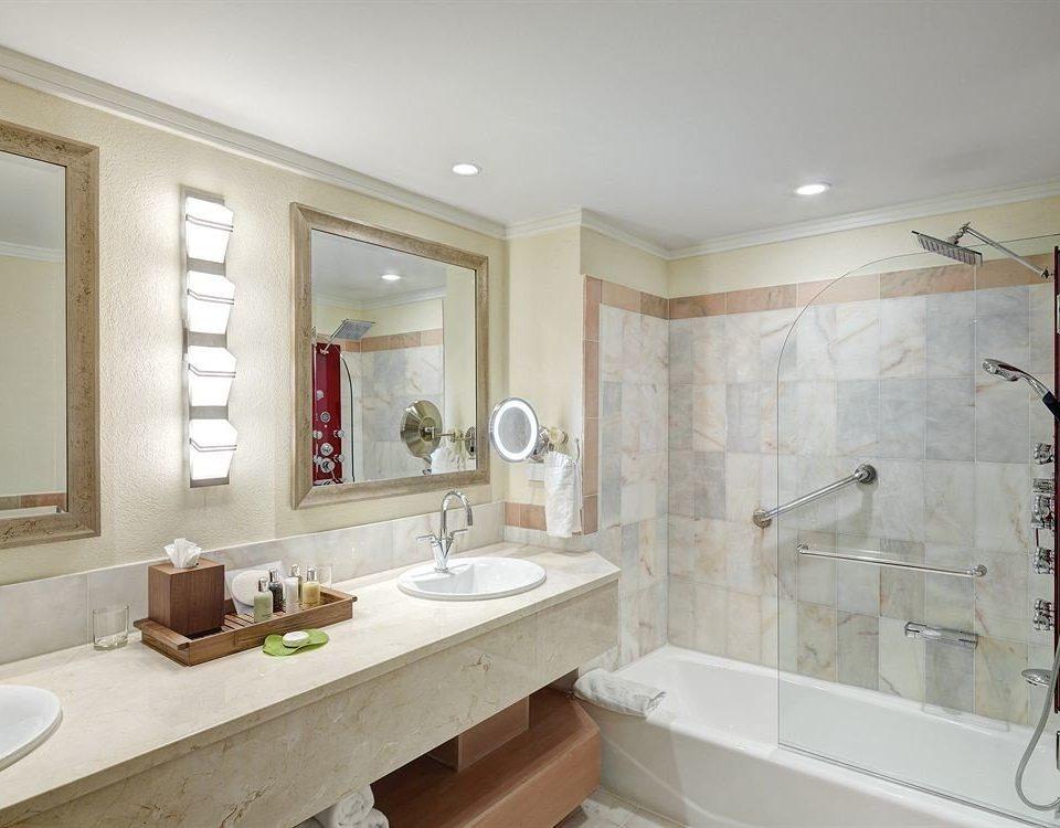 bathroom sink mirror property home cabinetry bathtub tub Bath clean