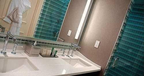 bathroom property sink condominium tub tiled bathtub tile Bath