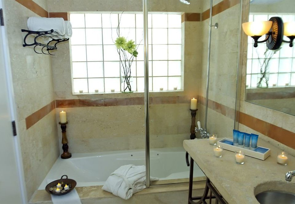 bathroom property sink house home cottage plumbing fixture flooring Bath tub bathtub