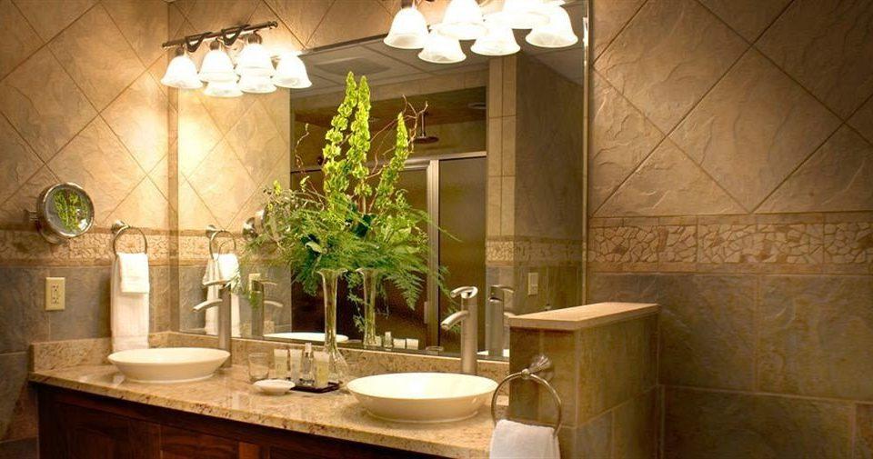 bathroom property home lighting sink cottage tub bathtub Bath tile tiled