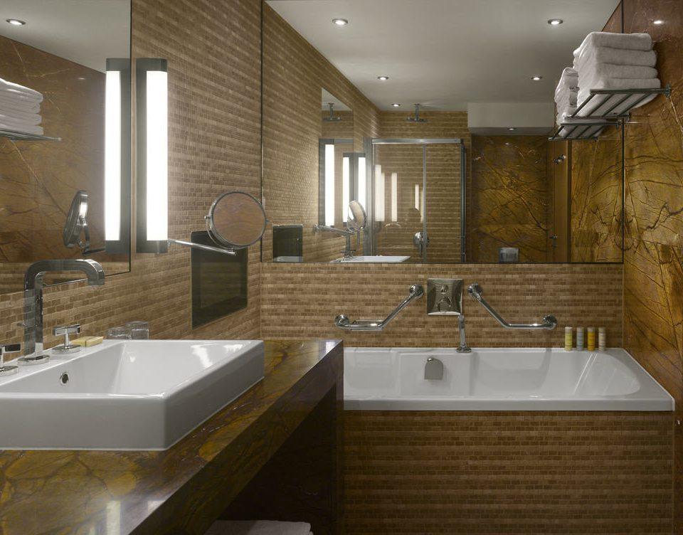 bathroom property sink countertop home vessel plumbing fixture flooring bathtub tub tile Bath