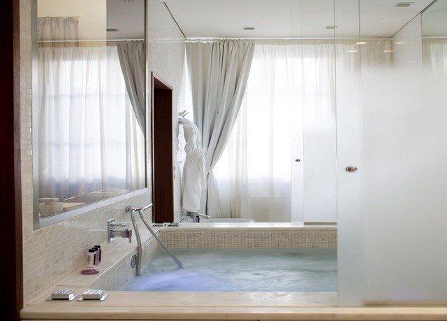 bathroom property sink home daylighting tub curtain Bath bathtub