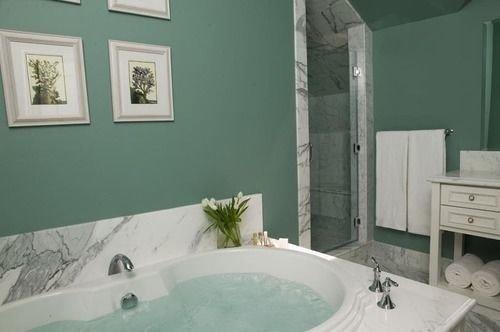 bathroom green vessel sink property bathtub swimming pool painted plumbing fixture tub Bath dirty