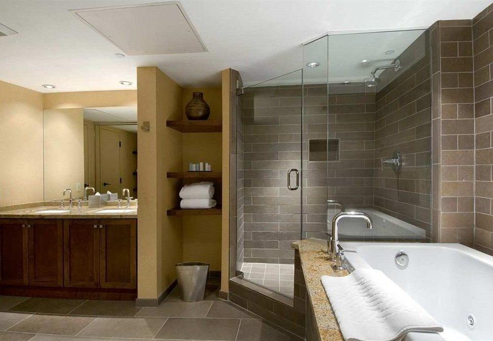 bathroom property sink vessel home bathtub plumbing fixture flooring tile Bath tub tiled