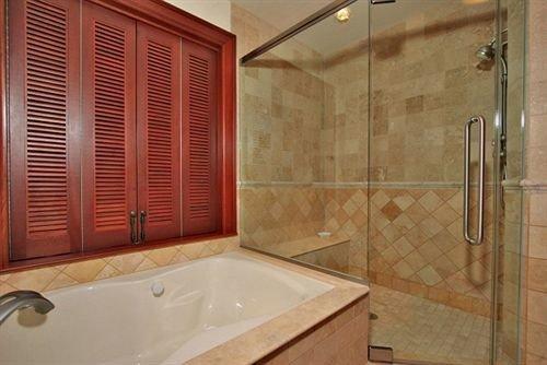 bathroom property swimming pool plumbing fixture sink tub bathtub flooring Bath tile tiled