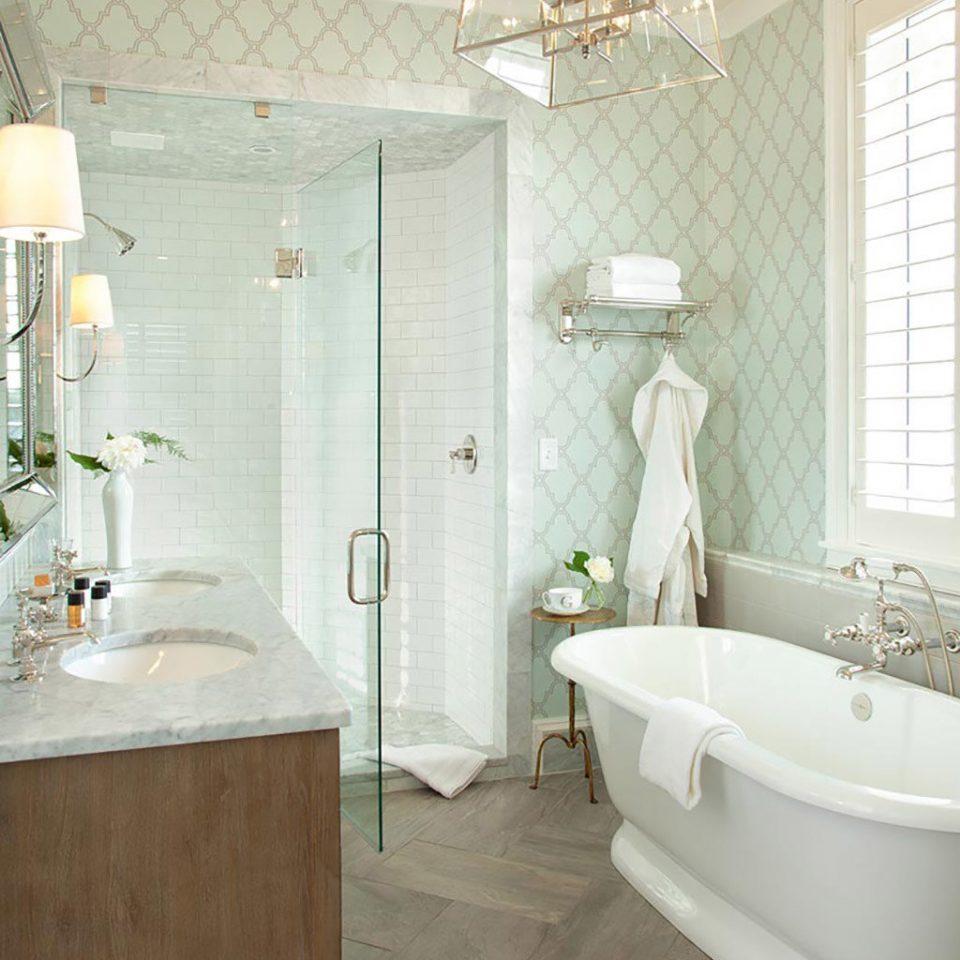bathroom toilet sink bathtub home plumbing fixture flooring tub Bath tan