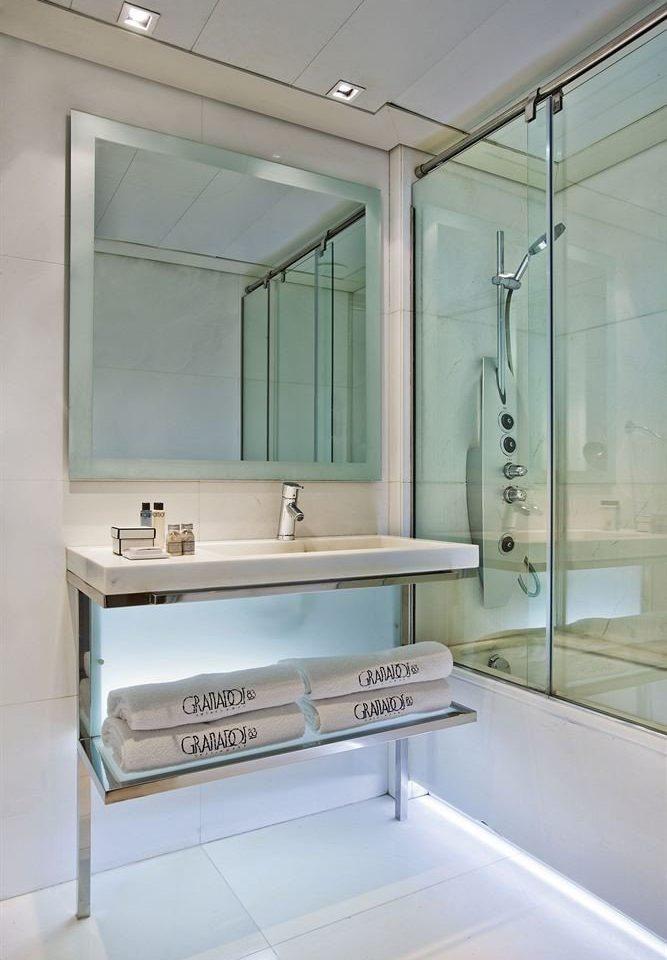 bathroom sink home plumbing fixture bathtub glass Bath tiled