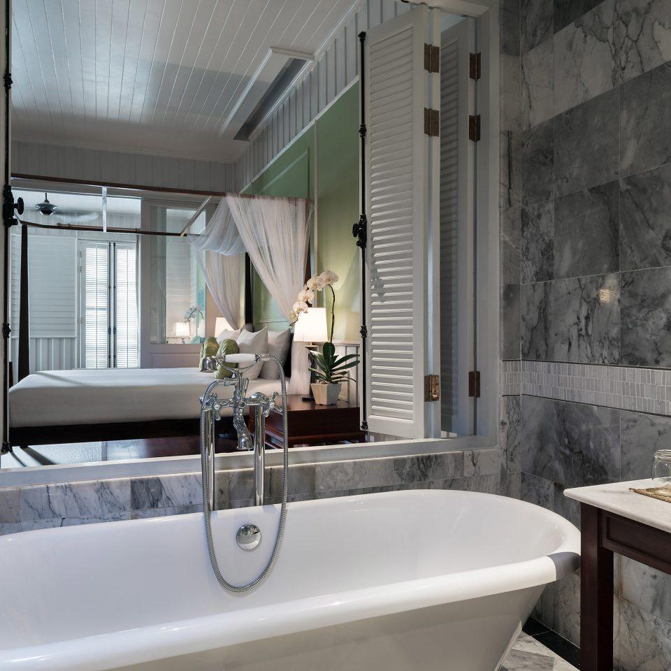 bathroom sink mirror property vessel tub home bathtub Bath