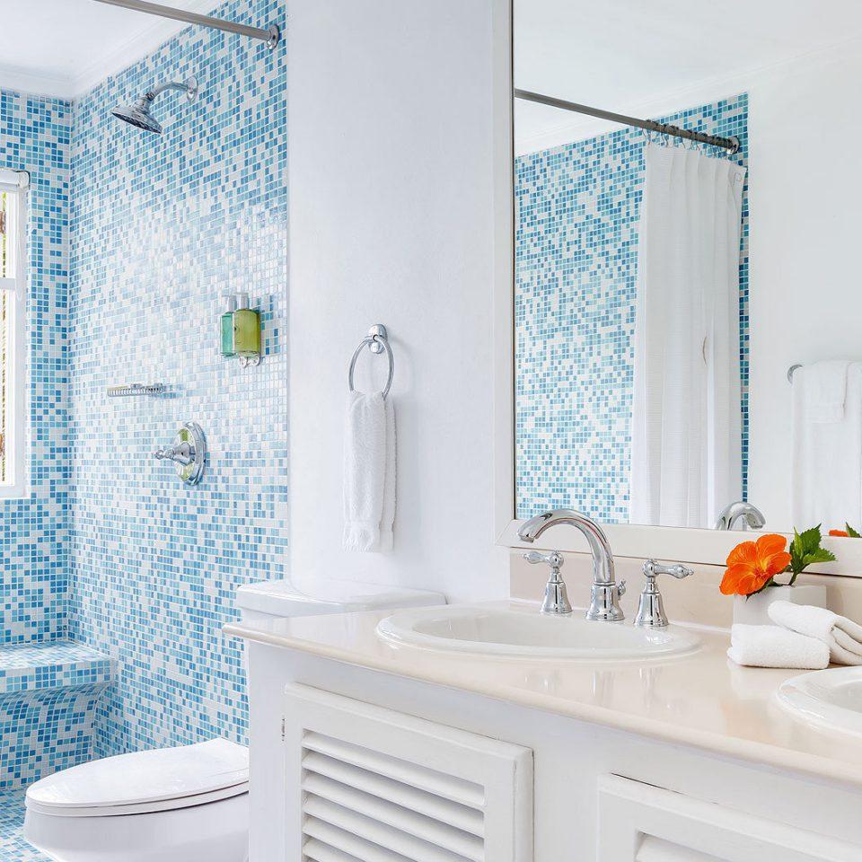 bathroom sink white bathtub plumbing fixture tub tile Bath tiled