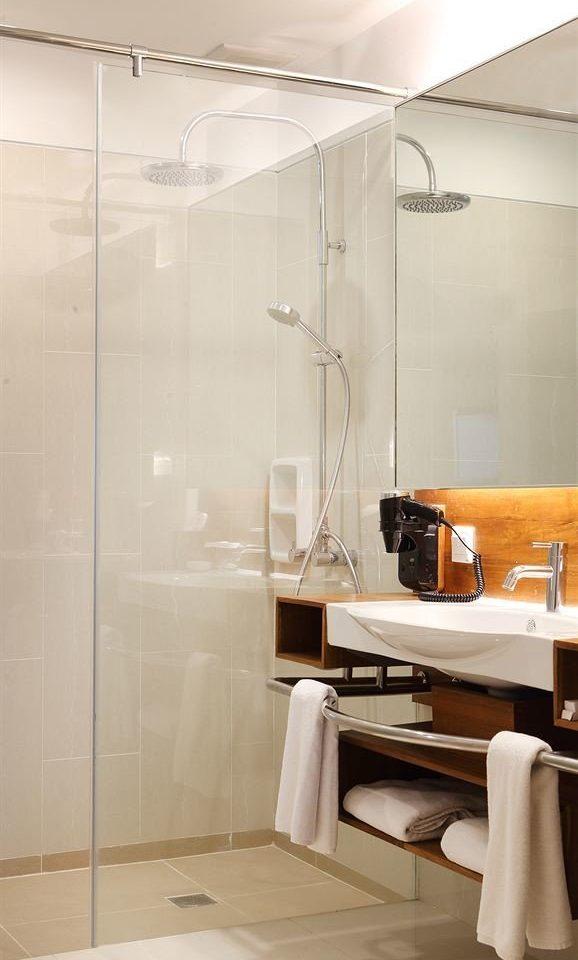 bathroom scene house home lighting sink cabinetry plumbing fixture glass Bath