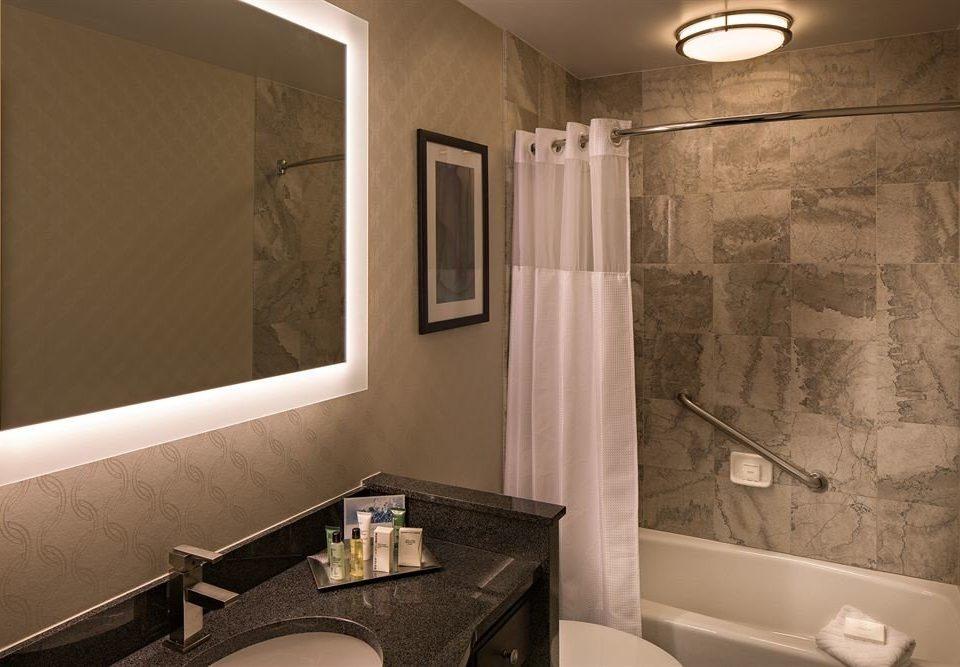 bathroom mirror sink property towel home toilet plumbing fixture clean tile Bath