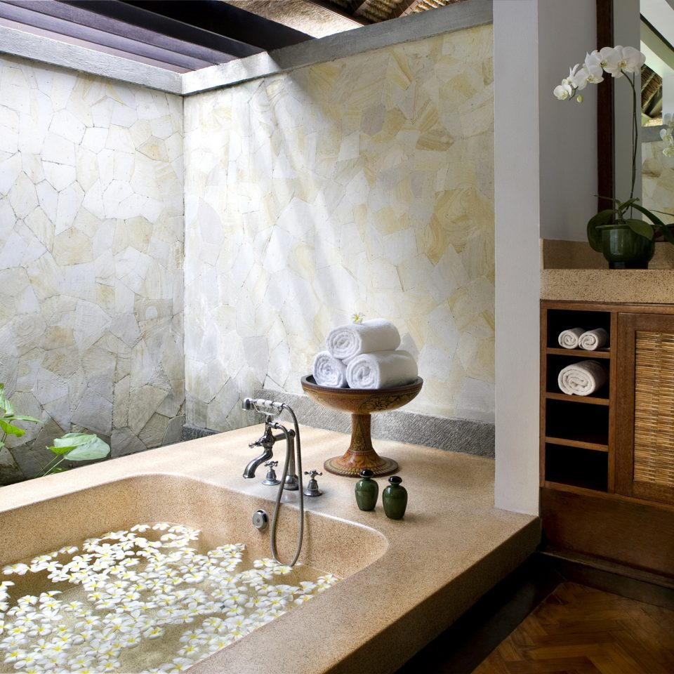 Bath bathroom property home countertop flooring cottage mansion plumbing fixture stone