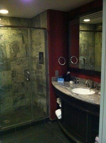 bathroom property house sink home plumbing fixture cottage tiled tub tile Bath
