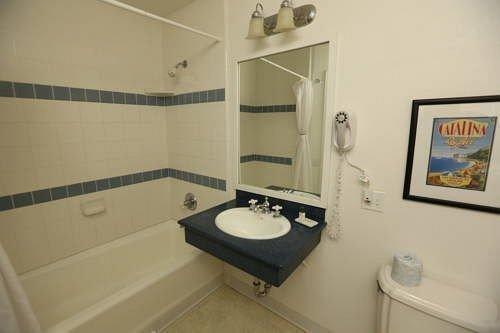 bathroom property sink toilet cottage tub tile Bath tiled