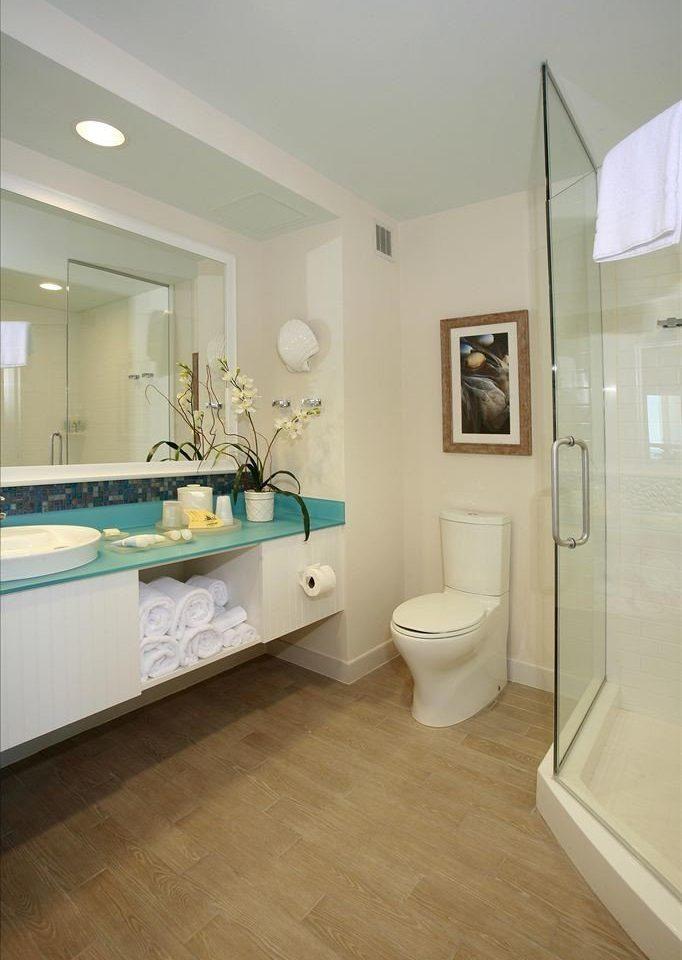 bathroom sink property flooring hardwood home wood flooring Bath tan