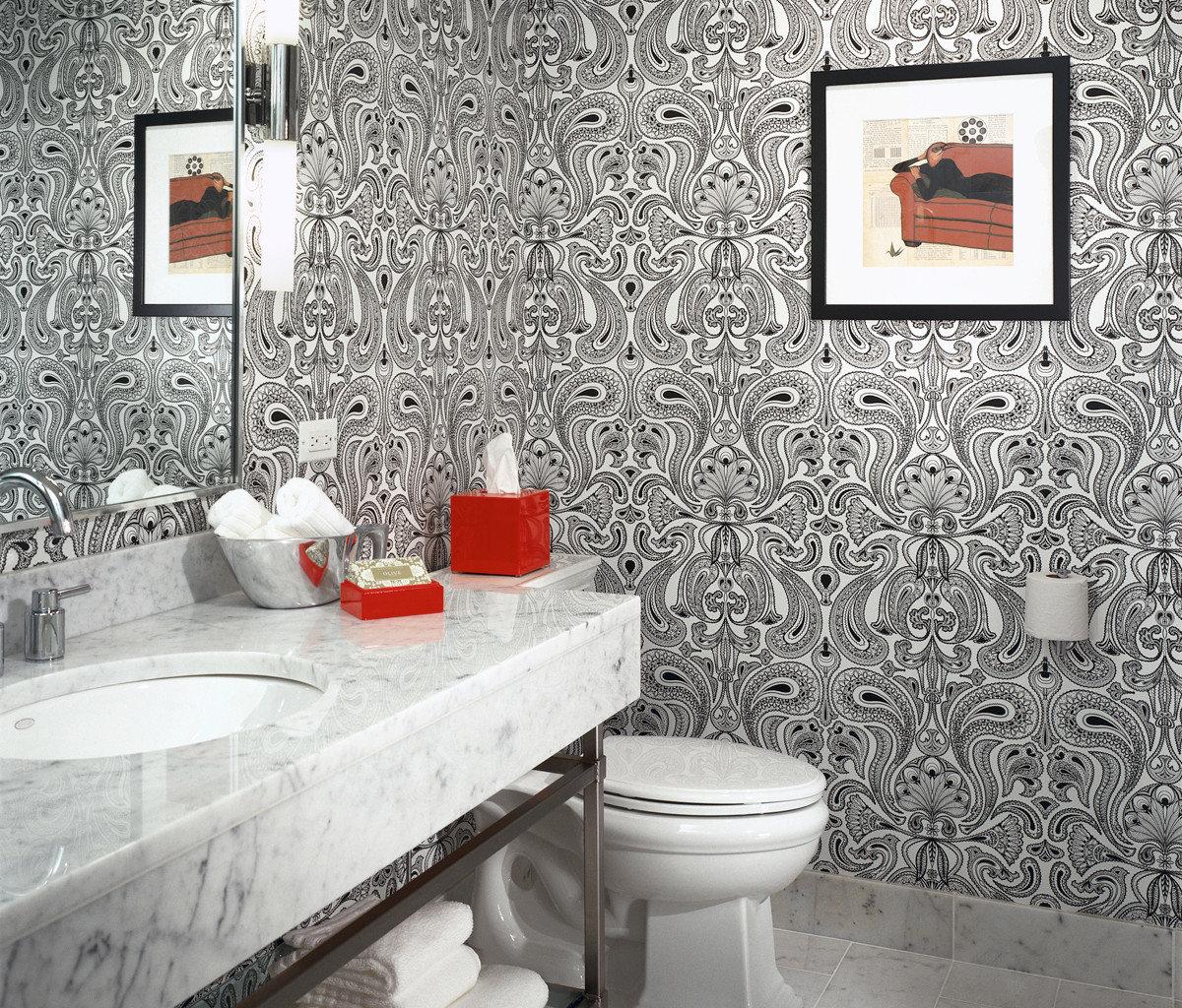 bathroom toilet sink flooring tile home Bath