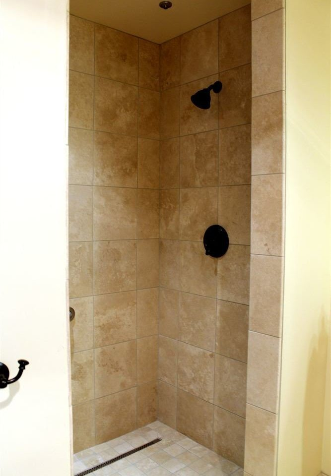 Bath bathroom plumbing fixture shower tile flooring tiled
