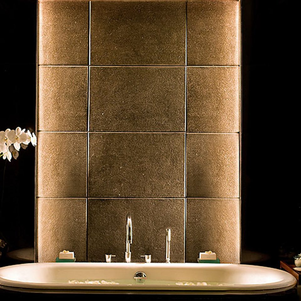 Bath bathroom sink lighting plumbing fixture toilet tile tiled