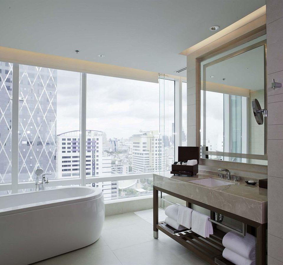 building property sink counter condominium home living room white professional tub bathtub Bath