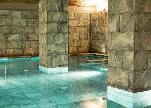 swimming pool thermae stone screenshot flooring mansion tub tile tiled Bath bathtub