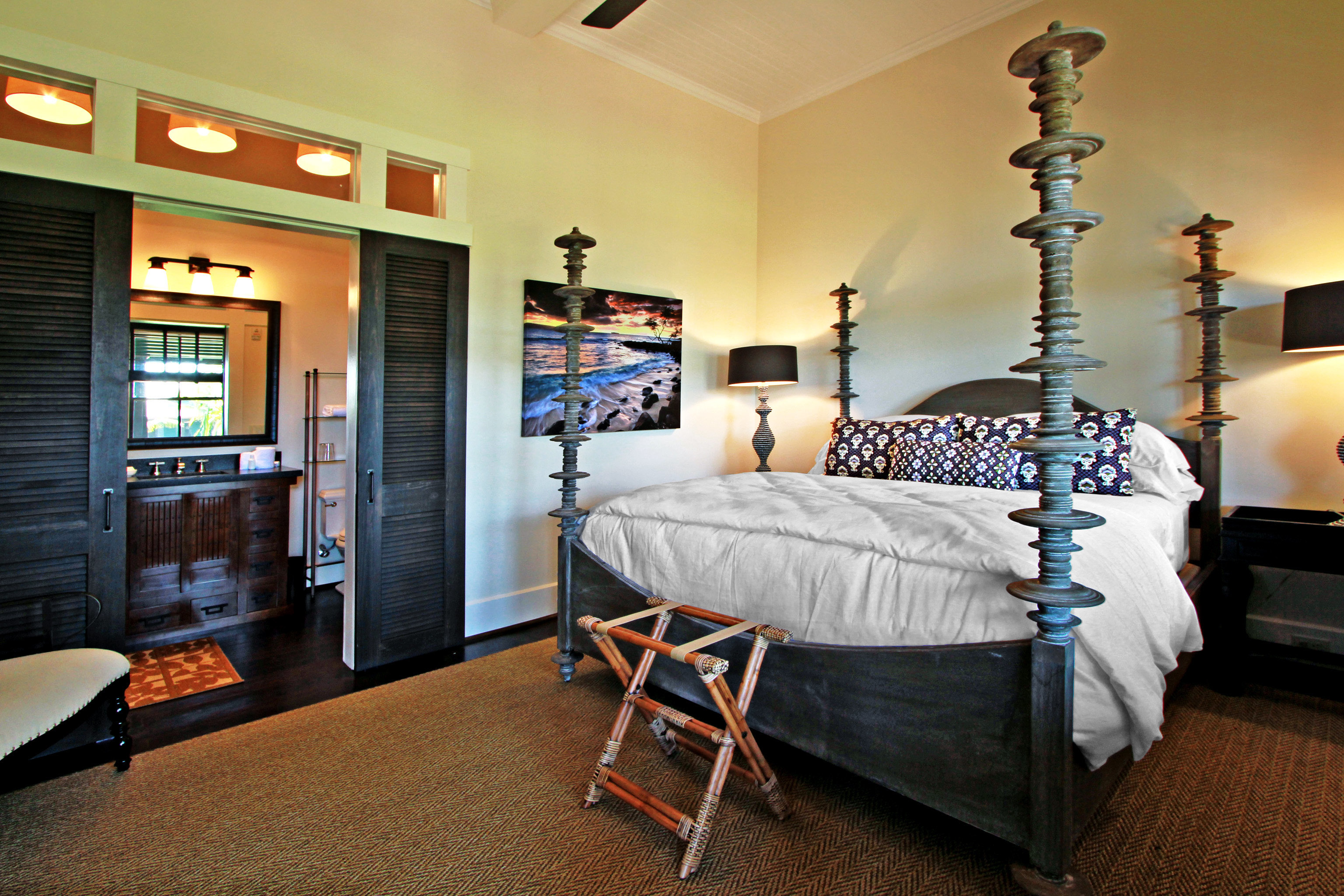Bath Beach Bedroom Boutique Hotels Eco Hotels Luxury Travel Modern property living room home cottage Suite