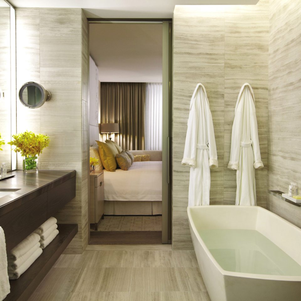 Bath Bedroom Canada Classic Hotels Luxury Resort Toronto bathroom property home white bathtub Suite swimming pool tub