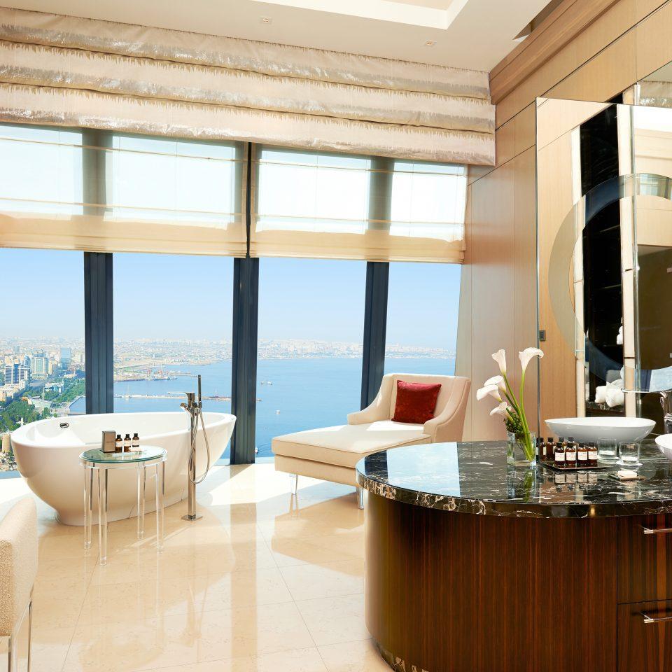 Bath Bedroom City Hip Kitchen Luxury Modern Scenic views Suite property condominium home living room Villa Island