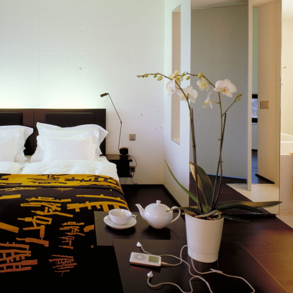 Bath Bedroom Health + Wellness Hotels Modern Spa Retreats Vineyard property home living room Suite