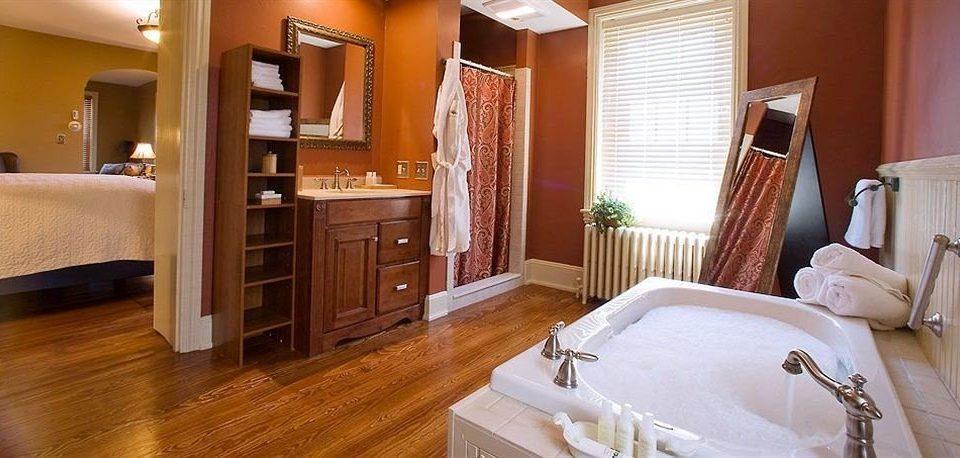 Bath Inn property Suite cottage hardwood home Bedroom