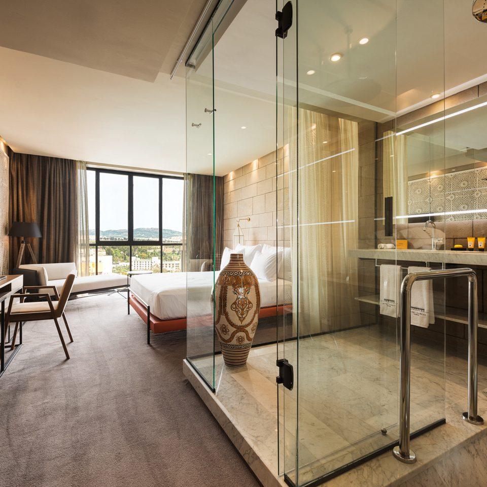 Bath Bedroom Modern Resort Trip Ideas property home hardwood living room condominium Suite loft wood flooring flooring Kitchen